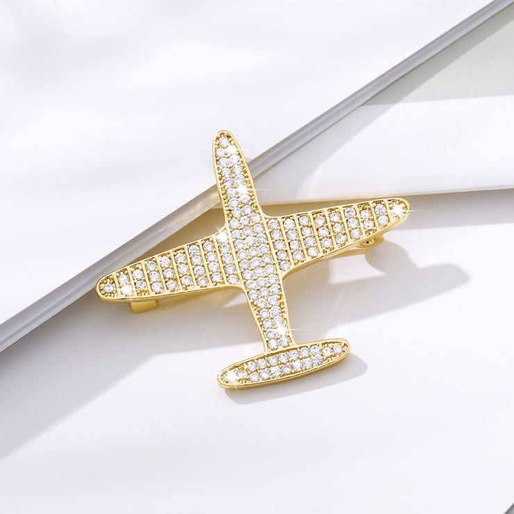 Airplane Brooches lapel Pin