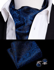 Barry.Wang Men Ascot Tie