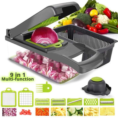 Vegetable Cutter 6 Dicing Blades