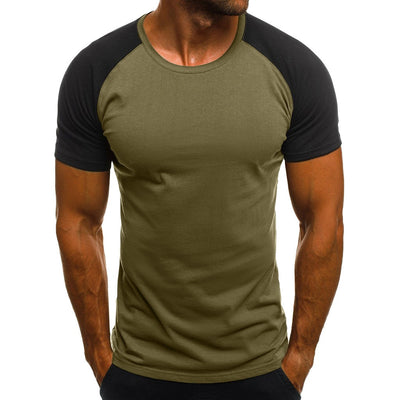 Camouflage Printed Tops Short Sleeve O Neck Tee