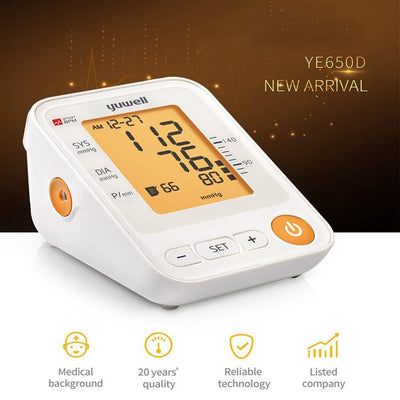 Arm Blood Sphygmomanometer Digital LCD Monitor
