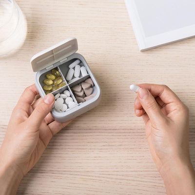 Pills Box Organizer Case Anti-dust