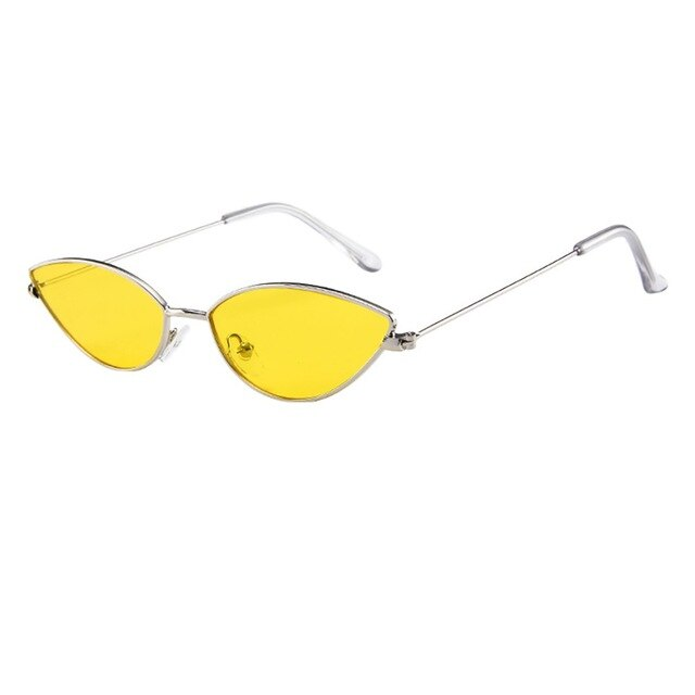 Women Cat Eye Oval Sunglasses