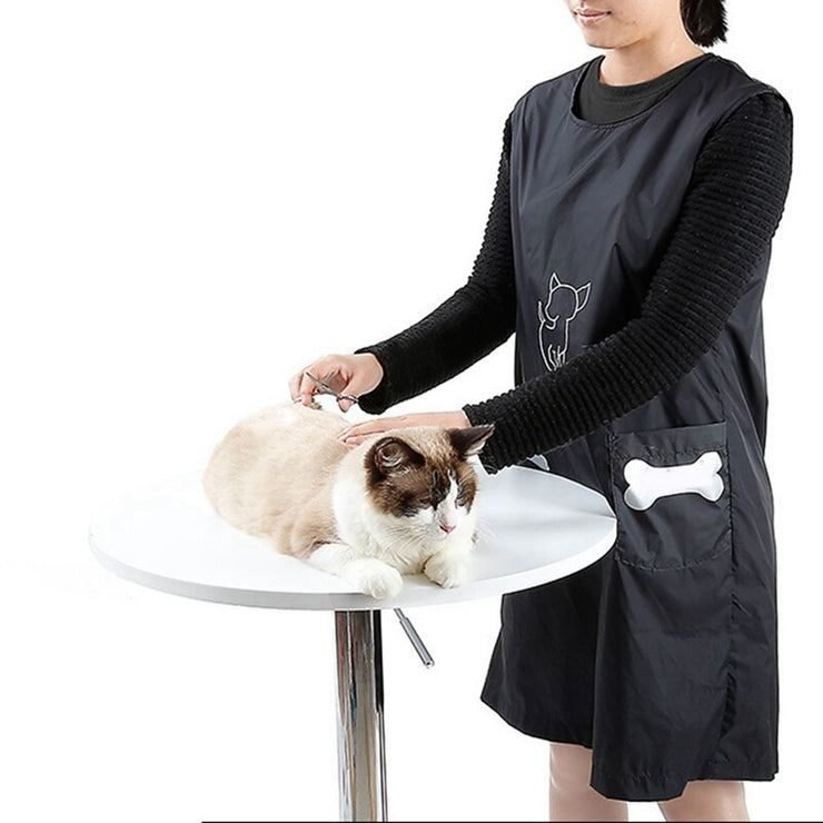 Pet Shop Clothes Beautician Overall Anti-stick Apron