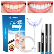 Teeth Whitening Kit with Smart Device Blue LED light
