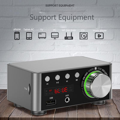 Mini Sound Amplifier 5.0 Bluetooth Stereo HIFI Audio