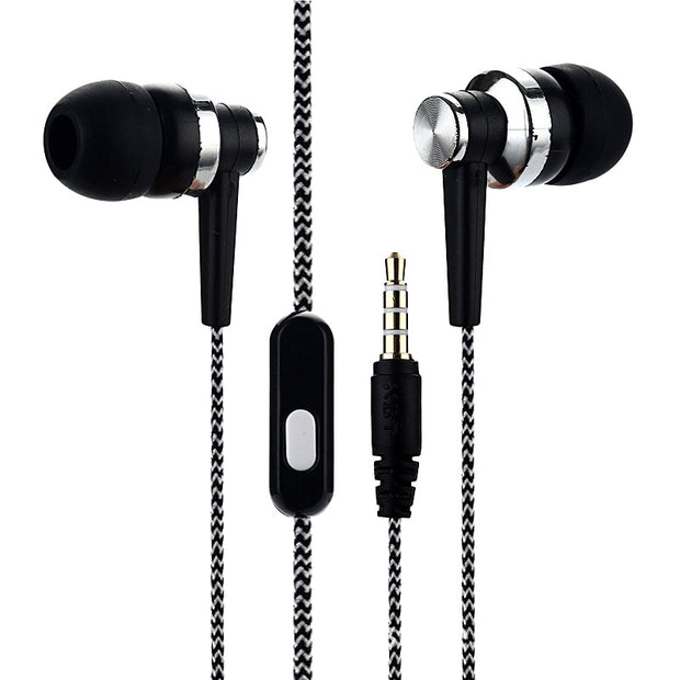 Earphone Wire Control In-Ear Earset