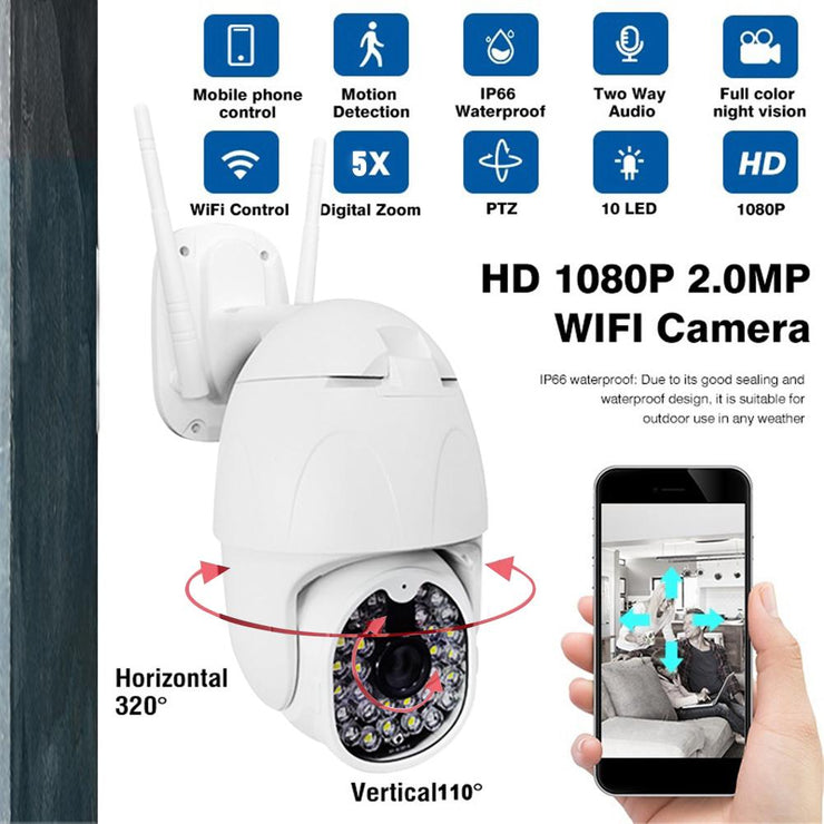 Wifi Outdoor Medium Speed Dome