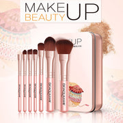 7PCS/SET Professional Women Facial Makeup Brushes Face Cosmetic Beauty Eye Shadow Foundation Blush Brush Tools