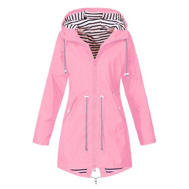 Waterproof Raincoat For Women Windbreak Coats
