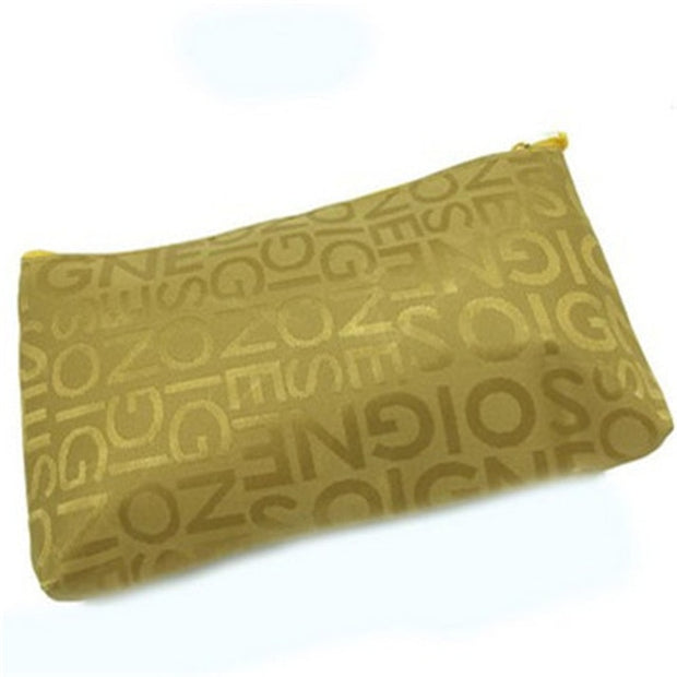 Oxford Zipper Cosmetic Bag