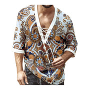 Men's Vintage Printed T Shirt