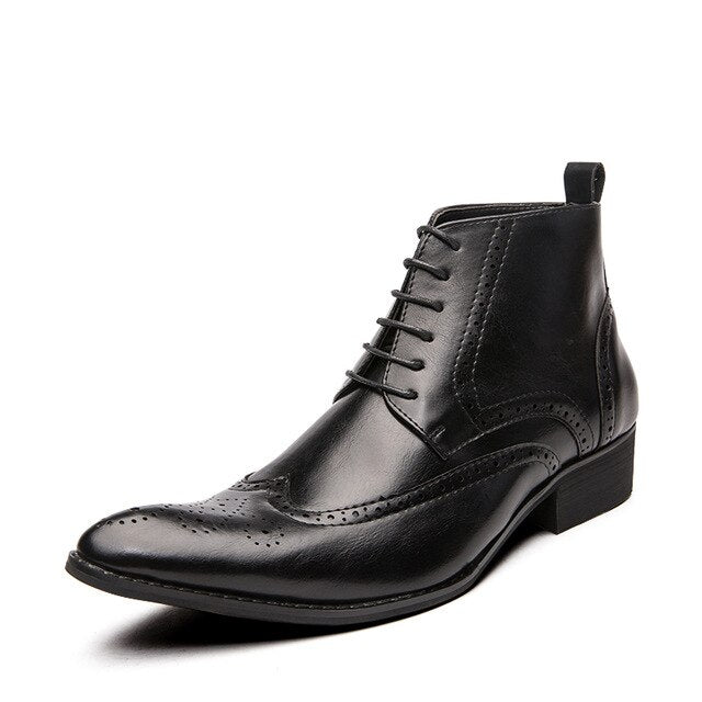 Large Size Men Casual Ankle Boots