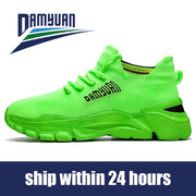 Damyuan Men's Casual Shoes Size 46 Women Shoes Comfortables Breathable Non-leather Casual Lightweight Gym Shoes Sneakers Jogging