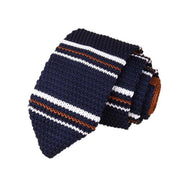 JAYCOSIN Necktie men's ties Knitted Crochet Stripe Necktie Wedding Party Classic Nylon filament Neck Ties gravata borboleta