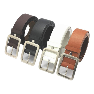 high quality top selling product 2020 Men's Casual Faux Leather Belt Buckle Waist Strap Belts Support Wholesale  Dropshipping