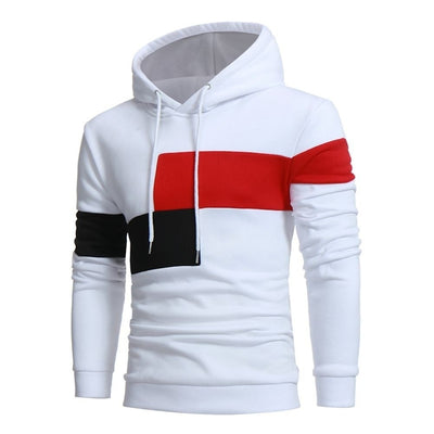 Color Patchwork Hoodies Men Sport Hooded Sweatshirts Jogging Homme Hip Hop Hoody Streetwear Hoodie Men Pullover Sweatshirts