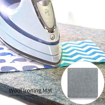 Household Protective Insulation Ironing Board Wool Ironing Pads Wool Pressing Mat Against Pressing Pad Ironing Cloth Homeware