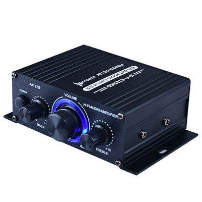 New 400W Professional Home Amplifiers Audio Bluetooth 5.0 Amplifier Subwoofer Amplifier Home Theater Sound System Mini Amplifier