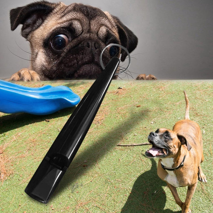 Pet Training Whistle Dogs Puppy Sound Portable Plastic Whistle Black Dogs Puppy Sound Portable Flute Pet Shop Dog Acessorios