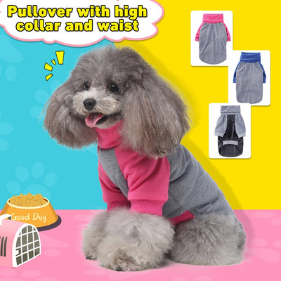 Pet Dog Hoodie Coat Soft Fleece Warm Puppy Clothes Dog Sweatshirt Winter Dog Clothes For Small Dogs Pet Shop #3