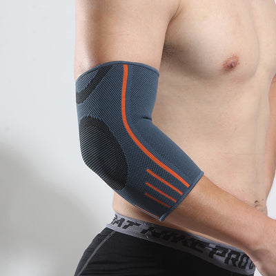1Pc Men Elbow Brace Compression Support Sleeve Elastic Elbow Pads Movement Protection S--XL Arm Hand Brace Sleeve for Men Women