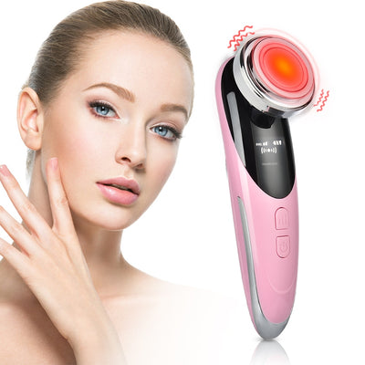 4in1 LED Photon Skin Rejuvenation Electroporation Ultrasonic Facial Deep Cleaning V Line Lifting Eye Massager Beauty Skin Care