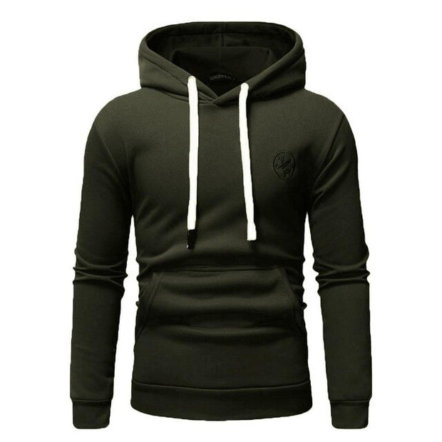Men's Long Sleeve Autumn Winter Casual Sweatshirt Hoodies Top Blouse Tracksuits Fashion Full Sweatshirts Hoodies Men 2019