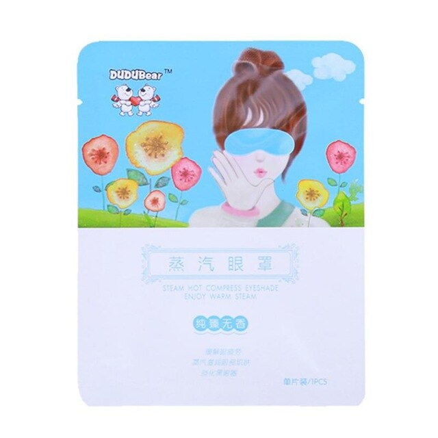 1Pcs Steam Eye Mask Fragrance Warm Generating Eye Spa Fine Line Wrinkles Moisturizing Dark Eyes Warmer Patch Eye Relaxation