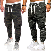 New Cargo Pants Men Fashion Loose Handsome Pocket Jeans Pants Tooling Camouflage Pants M-4xl Men Clothing