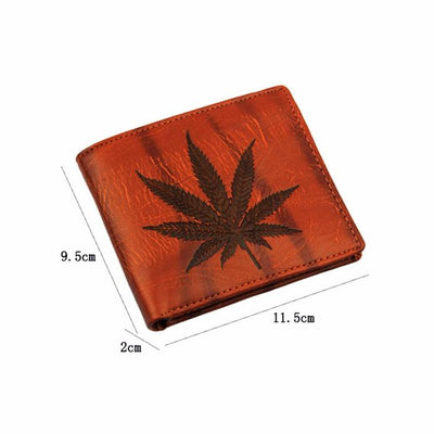 Vintage Business Fashion Men Wallet Casual Credit Card Holder Coin Purse For Men Portable Bifold Male Clutch Bag