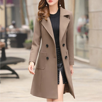 Women Overcoat Wool Coat