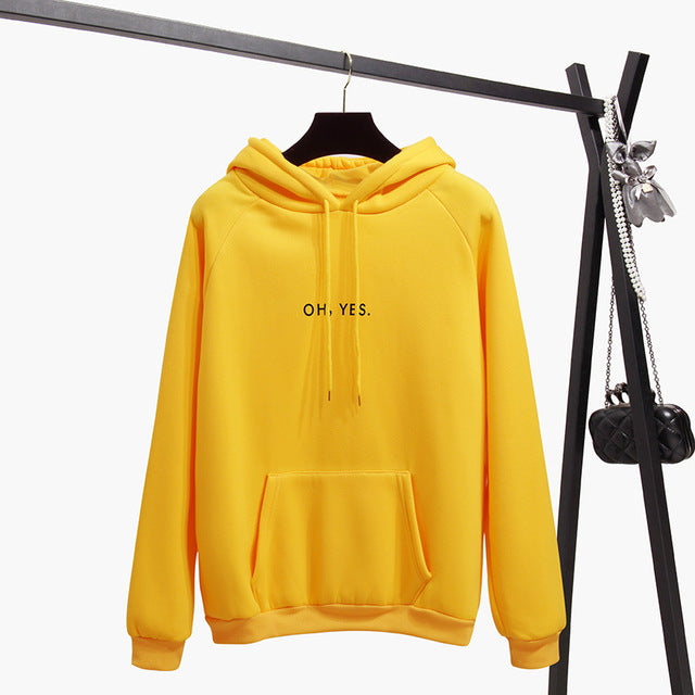 Autumn Winter Women Fleece Hoodies