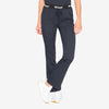 Grey's Anatomy Classic women's black low-rise scrub pants. Drawcord. 3 pockets. Soft-touch 4-way stretch fabric.
