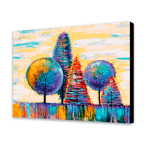Whimsical Trees