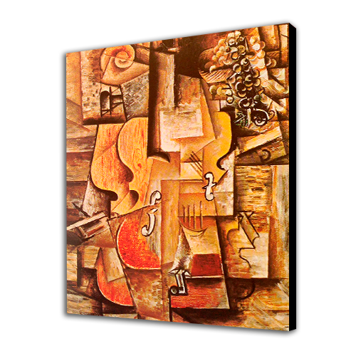 Picasso Violin and Grapes