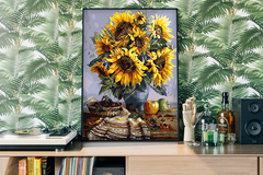 Sunflowers on the Table By Van Gogh