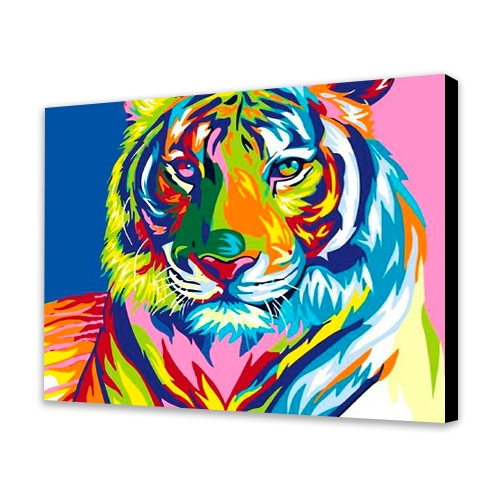 Colorful Tiger