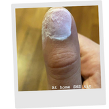 Thumbs with Adhesive Glue