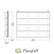 Load image into Gallery viewer, Florafelt 12-Pocket Panel Living Wall System