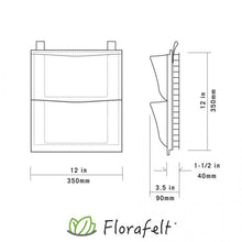 Load image into Gallery viewer, Florafelt 2- Pocket Panel Living Wall System