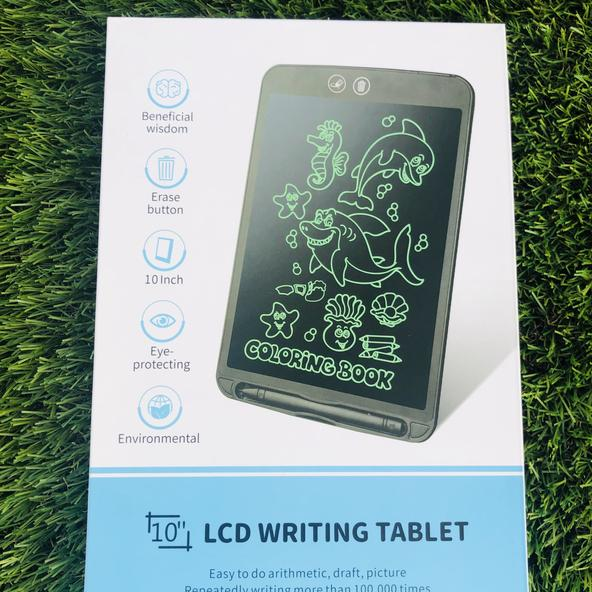 "10"" LCD writing tablet- Meet the 2020 Etch- a-sketch! Multi sensory, great for writing and drawing."