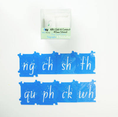 NSW Diagraphs and Punctuation Stencils Kit