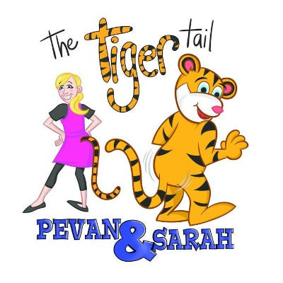 Pevan and Sarah The Tiger Tail CD