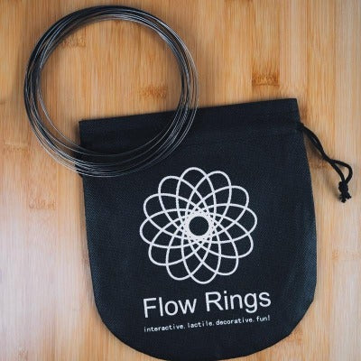 Take your calming rings anywhere in this specially made pouch