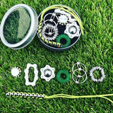 The works fidget kit in green