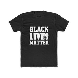 Black Lives Matter Men's Cotton Crew Tee