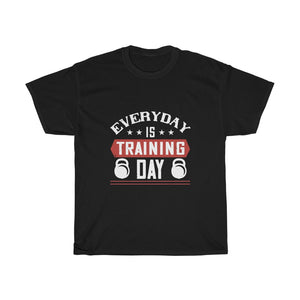 Everyday is Training Day Unisex Heavy Cotton Tee