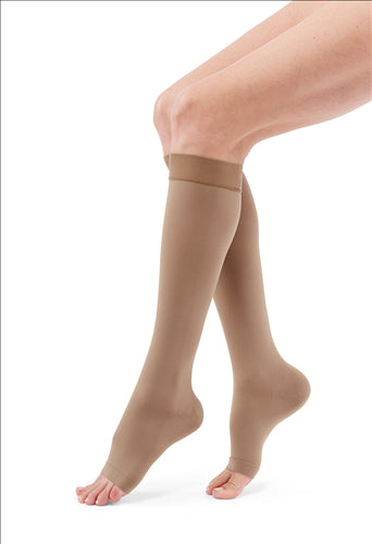 Duomed Advantage 30-40 mmHg calf extra-wide open toe standard
