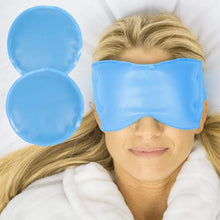 Load image into Gallery viewer, Hot or Cold Gel Eye Mask